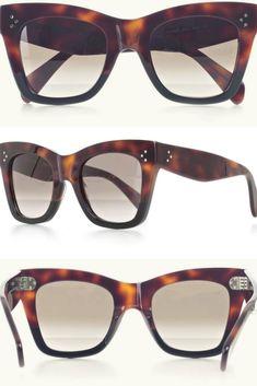 147622df1b26 Celine 19td Havana Black Eyewear - 100% Acrylic  ad  eyewear  sunglasses   womensfashion  womens  glasses