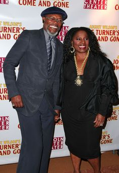 Samuel L. Jackson and LaTanya Richardson Jackson