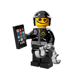 NEW THE LEGO MOVIE MINIFIGURES 71004 Scribble-Face Bad Cop