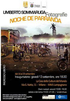 """Locandina della Mostra """"Noche de Parranda"""""""
