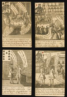 Playing cards--Stock-jobbing cards or the humours of Change Alley   Lot   Sotheby's