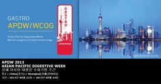 APDW 2013 ASIAN PACIFIC DIGESTIVE WEEK 상해 아시아 태평양 소화기병 주간