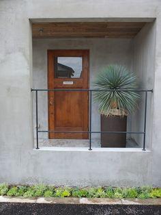 Future House, My House, Cement House, Japanese Plants, Garden Design, House Design, Garage Interior, Facade Architecture, Looks Cool