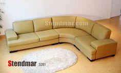 3pc New Modern Design Tan Leather* Sectional Sofa S281 by STENDMAR, http://www.amazon.com/dp/B002S0W51C/ref=cm_sw_r_pi_dp_m6sBrb0ZAREQA