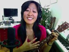 Beginner Uke Lesson #2 - I'm Yours - Backbeat strum - YouTube