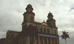 Antigua Catedral de Managua!  Managua_Nicaragua Tierra de lagos y Volcanes.