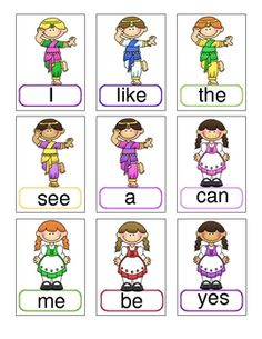 An adorable set of primary sight word cards that can be useful and used in many ways. I describe the most popular game that my class uses them for ...