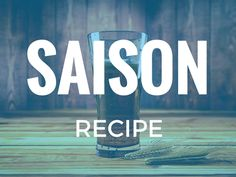 This Saison recipe is a quintessential recreation of a Belgian Saison. I have brewed this beer so many times and it never fails to impress.