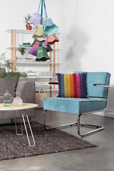 Hanglamp Granny - Textiel - Mix Color - Zuiver