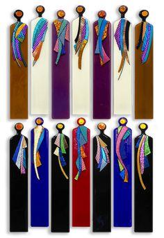 """Kindred Spirits"" - Exposures International Gallery of Fine Art - Selina Homa Glass Wall Art, Fused Glass Art, Stained Glass Art, Mosaic Art, Mosaic Glass, Mosaics, Wall Sculptures, Sculpture Art, Sculpture Ideas"