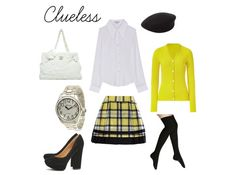 Clueless-Inspired Looks on Polyvore: Style boards based on Clueless? We'll take it.