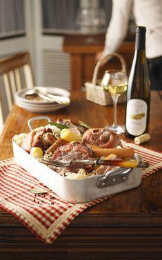 Recette traditionnelle de la fameuse choucroute alsacienne - Recettes cuisine alsacienne traditionnelle ...