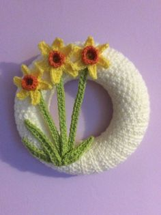 Spring wreath made by me!