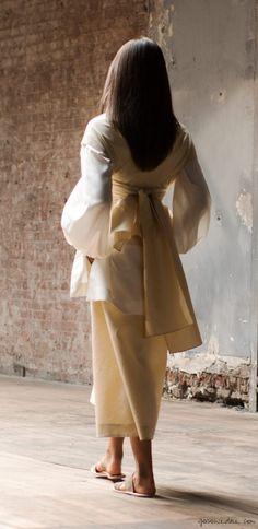 The Row, layering, dresses / Garance Doré