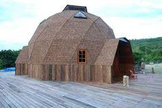 dome home outside
