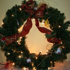 Redneck Christmas Wreath