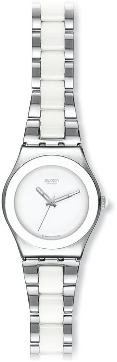 Swatch Women's STYLS141G SS2006 White Dial Watch