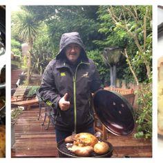 BBQ (braai'd) roast chicken with sweet potatoes. Roast Chicken, Sweet Potato, Bbq, Childhood, Potatoes, Foods, Barbecue, Food Food, Infancy