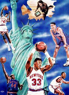 90s Knick! Black Sneaker gang!