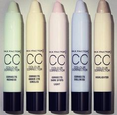 Colour corrector makeup