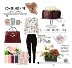 """Untitled #189"" by nata0 ❤ liked on Polyvore featuring Distinctive Designs, River Island, Hermès, LSA International and Royal Albert"