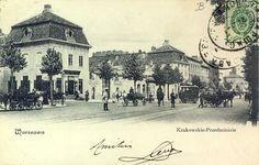 Warszawa Krakowskie Przedmieście Rzepkowicz  Vintage postcard, Alte postkarte…