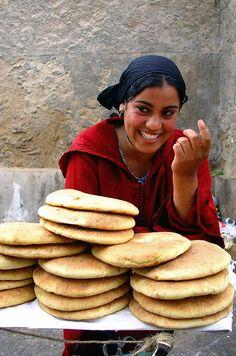 El pan de Marruecos.
