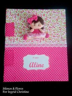 Mimos & Flores: O Livro de assinaturas da Aline