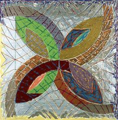 Frank Stella, I (from Polar Co-ordinates for Ronnie Peterson), 1980