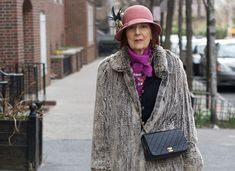 ADVANCED STYLE: Eye-Catching On The Upper East Side