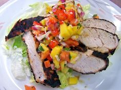 Recipe of the Day: Grilled Chicken with Mango Salsa