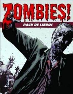 Pack de libros de temática Zombie