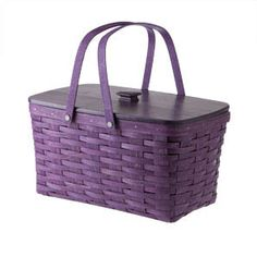 OMG!!! Purple Longaberger?!?! I NEED IT!!!