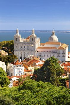 São Vicente de Fora  MAgnificent view. Magnificent city!     #Lisboa, the most beautiful city in the world!   #Portugal