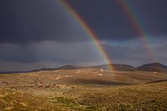 Double Rainbow Over Bodie