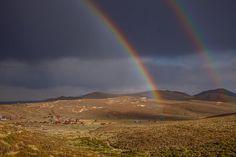 Double Rainbow Over Bodie