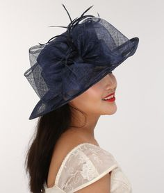 Fabrication: 100% Sinamay. Make you own fashionn statement. Hand made with care. Great fresh look for Spring & Summer. This hat is pretty! Feel like royalty in an instant. Great quality. Great for ladies, and teens and girls. | eBay!