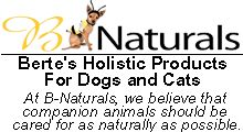 Great site for natural dog supplements and the newsletter section provides tons on info on dog nutrition and health.