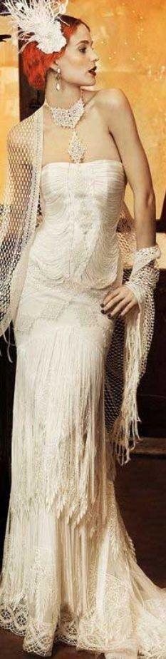 Gorgeous gown by Yolan Cris ✿⊱╮