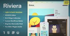 Download and review of Riviera - Portfolio WordPress Theme, one of the best Themeforest Creatives themes {Download & review at|Review and download at} {|-> }http://best-wordpress-theme.net/riviera-portfolio-download-review/