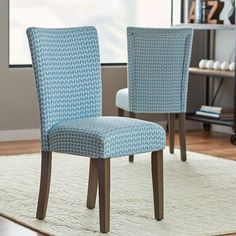 Salia Side Chair (Set of by Mercury Row Contemporary Dining Chairs, Solid Wood Dining Chairs, Upholstered Dining Chairs, Dining Chair Set, Dining Room Chairs, Side Chairs, Office Chairs, Dining Tables, Office Decor
