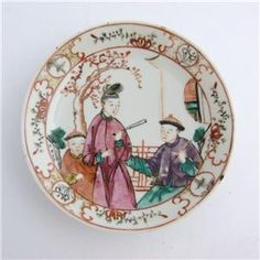XVIII Chinese Famille Rose (plate) Jean Pierre Osellame Collection