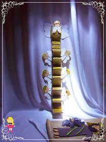 Gênesis 28 Contei está História para as crianças, eles amaram! A escada fiz com papelão, EVA e cola quente, assim como todos os ...