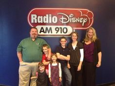 The Echols Family - living and thriving with Long QT doing an interview with the SADS Foundation for Radio Disney!
