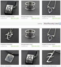 the mortal instrument jewelry   pandemoniumclub: Mortal Instruments Jewelry by designer Viviane Hebel