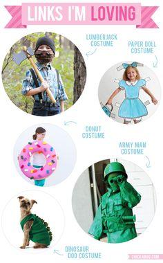 Links I'm Loving: DIY Halloween costumes