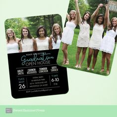 52 best graduation invitations images on pinterest graduation graduation party invitation group grad party grad announcement digital high school senior party college graduation invitation girl or guy filmwisefo