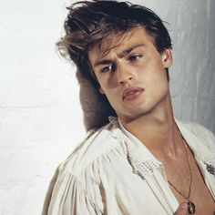 Douglas Booth by Bruce Weber