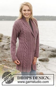 I love love love this sweater. I will knit it when I get thin!