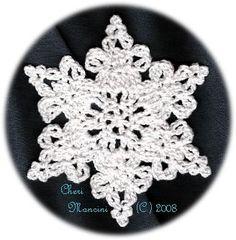 Crochet Lace Snowflake - Cheri's Crochet